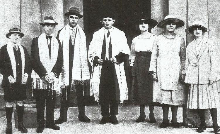 Claremont shul choir, 1919