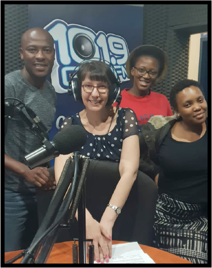 Jewish Board Talk, a weekly current affairs programme on 101.9 Chai FM hosted by Charisse Zeifert, publicises both the work of the SAJBD and the activities of Jewish organisations and community members.