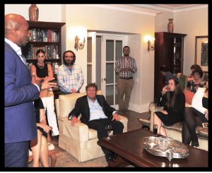 Democratic Alliance leader Mmusi Maimane addresses Gauteng Jewish leadership, 14 March 2019