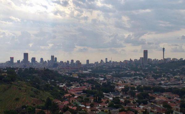Johannesburg skyline from the east (Heritage Portal)